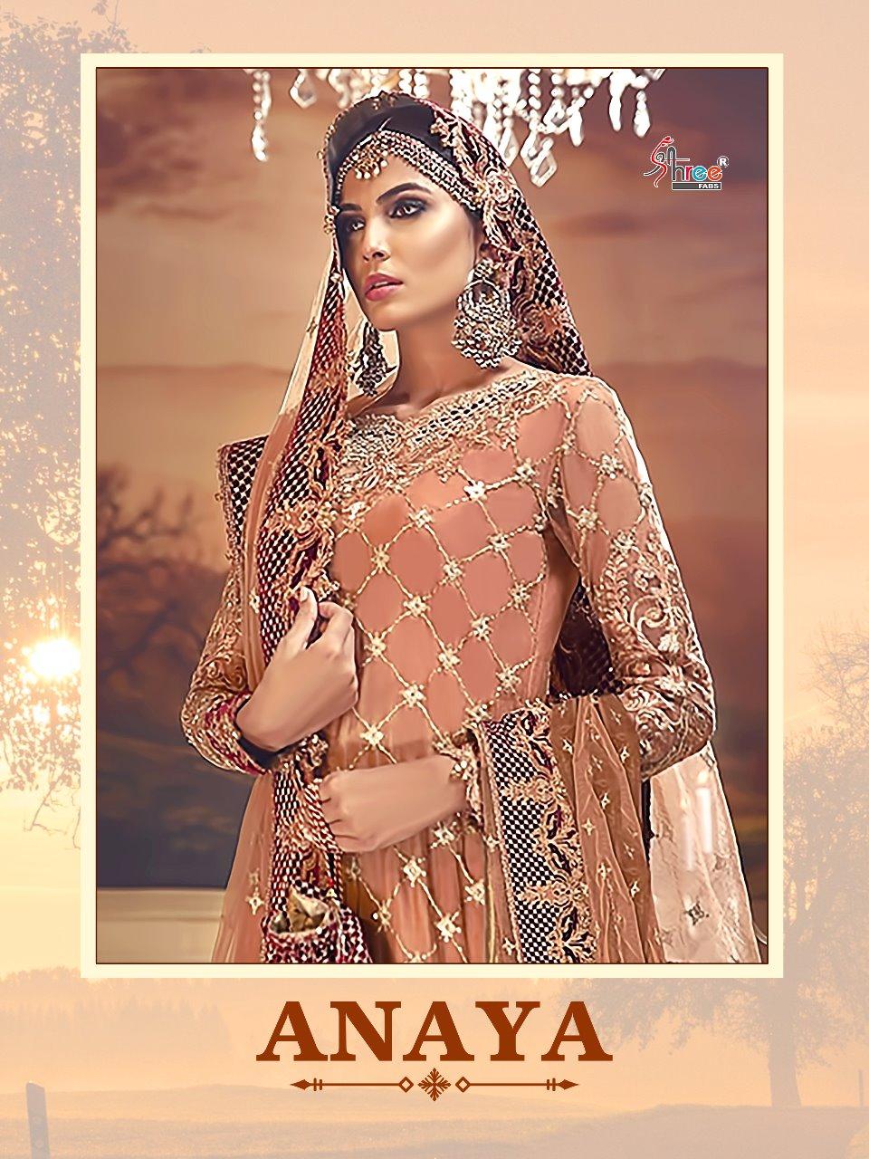 Shree Fab Anaya Designer Elegant Wear Wholesale