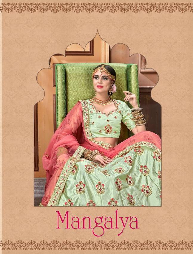 Mangalya Lehenga Designer Bridal Collection Wholesale