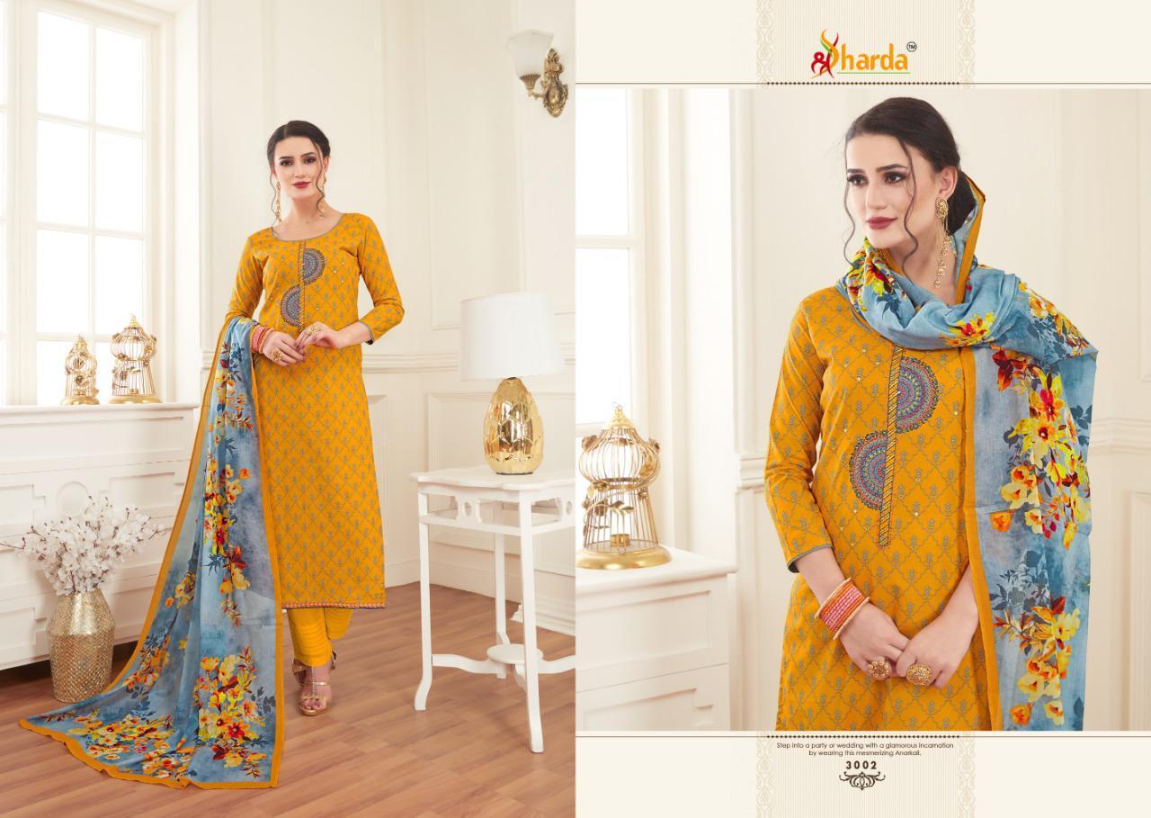 Sharda Sakshi Designer Embroidery Suit Wholesale