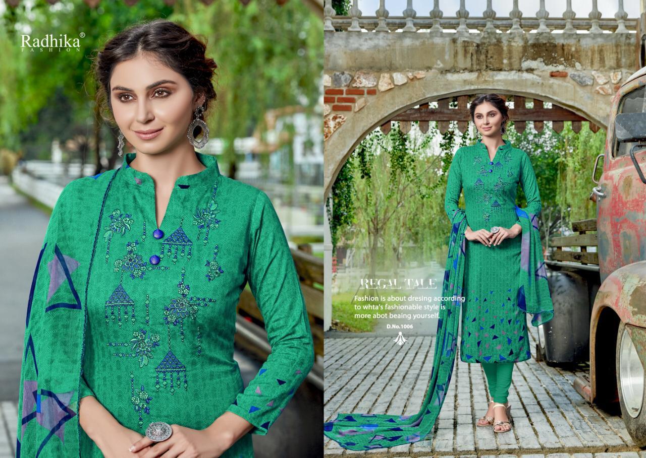Radhika Azara Elee Embroided Suit Wholesal