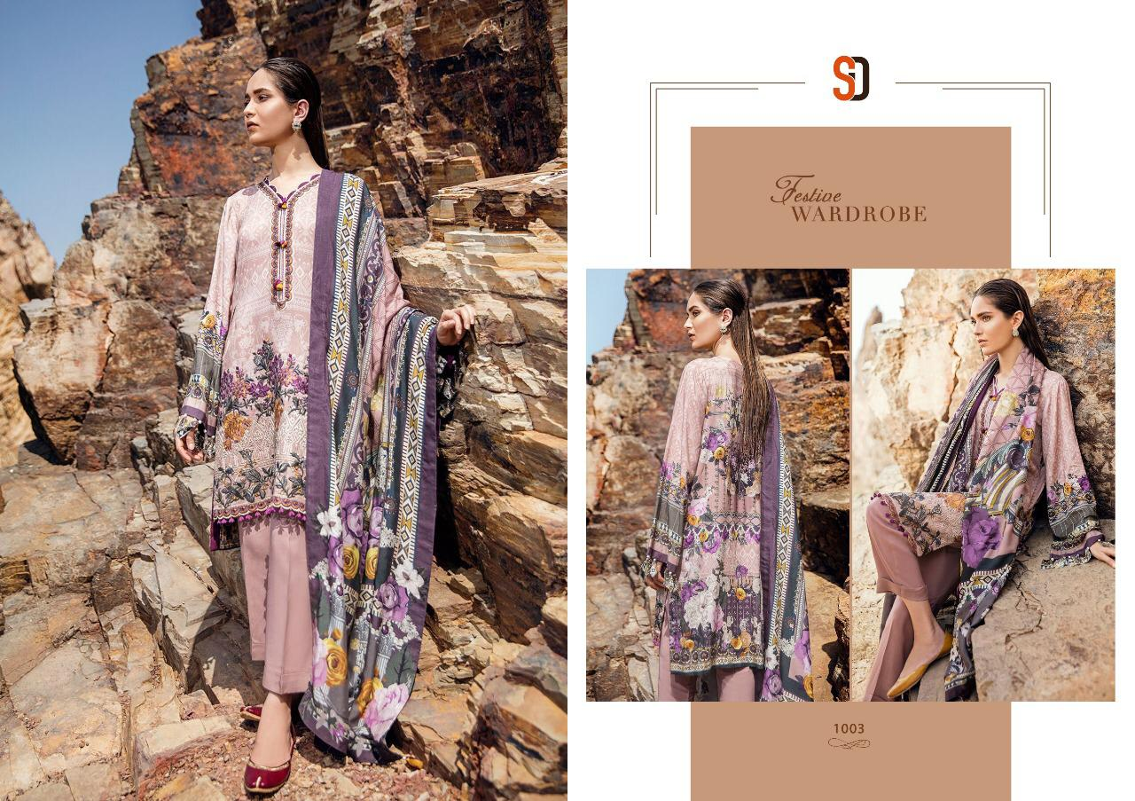 Sharaddha Designer Launched There Designer Suits Wholesale