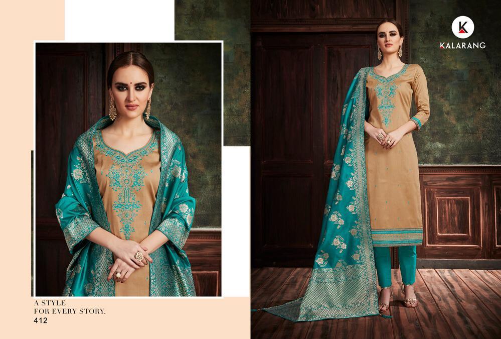 Kalarang Avishkar Present New Designer Suits Wholesale