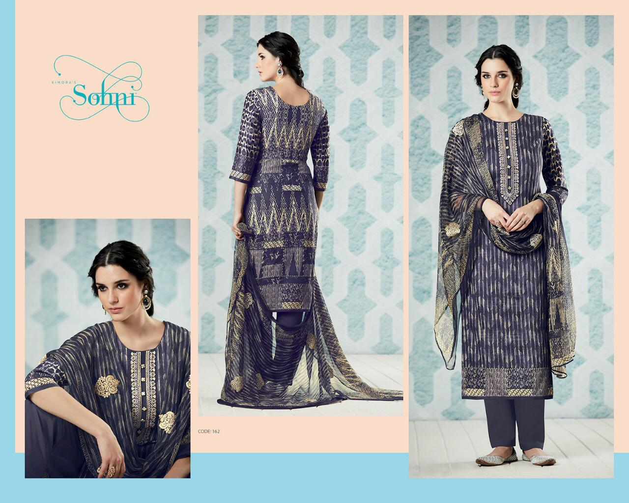 Kimora Sohini Designer Partywear Suits Wholesale