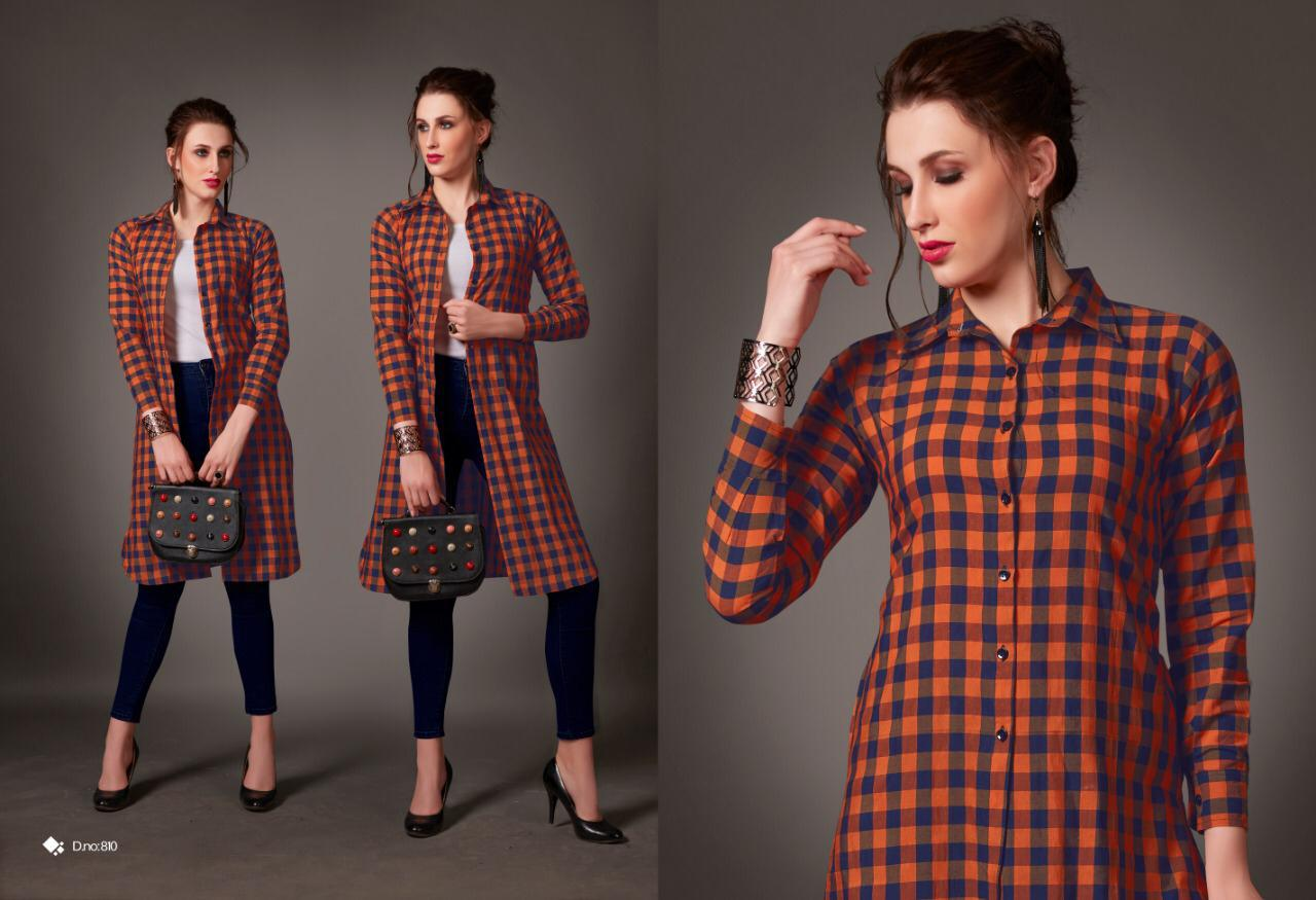Rani Trendz Launch New Collection Long Shirt Kurti Wholesale