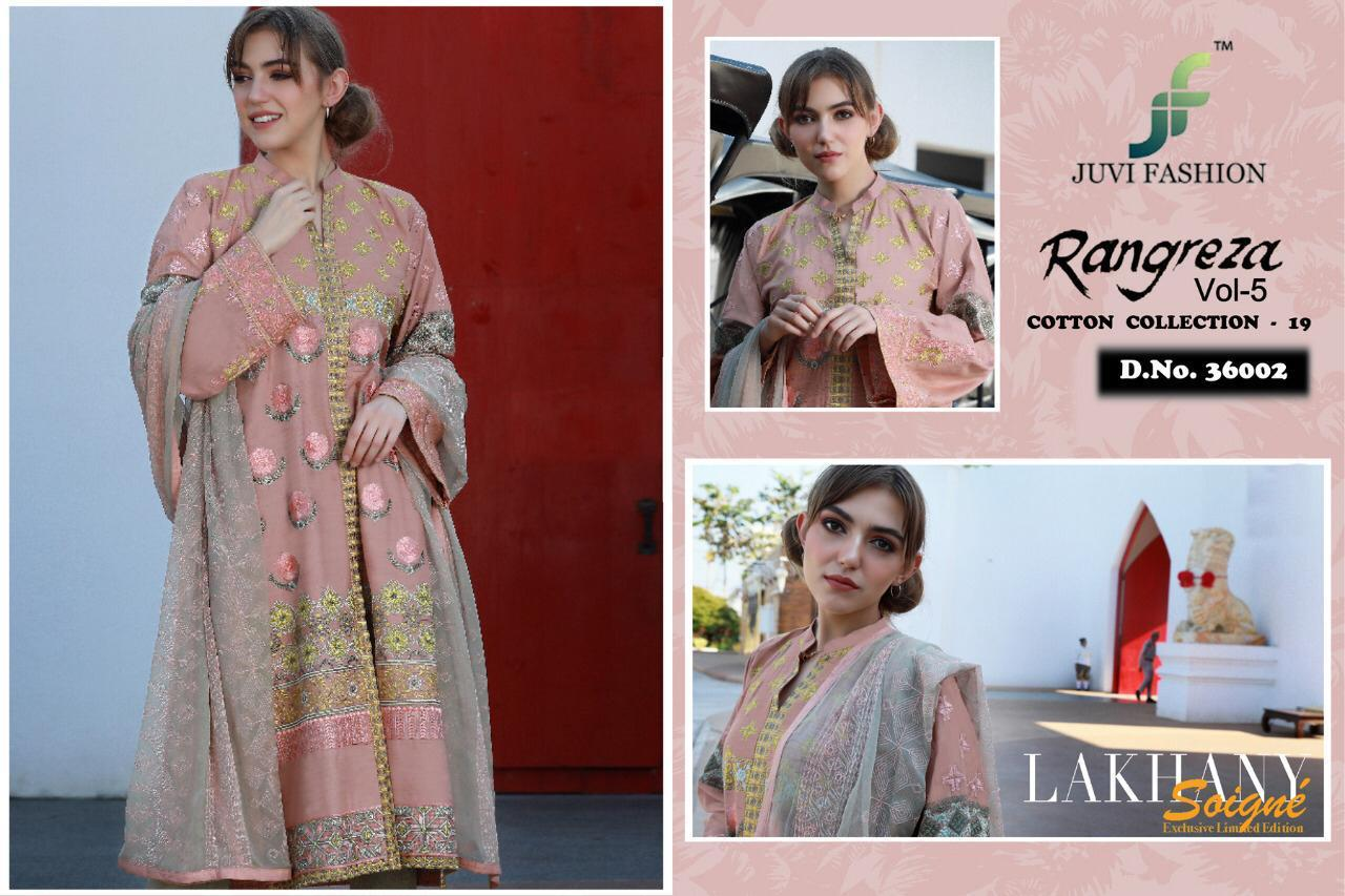 Rangreeza Present Designer Partywear Suits Wholesale
