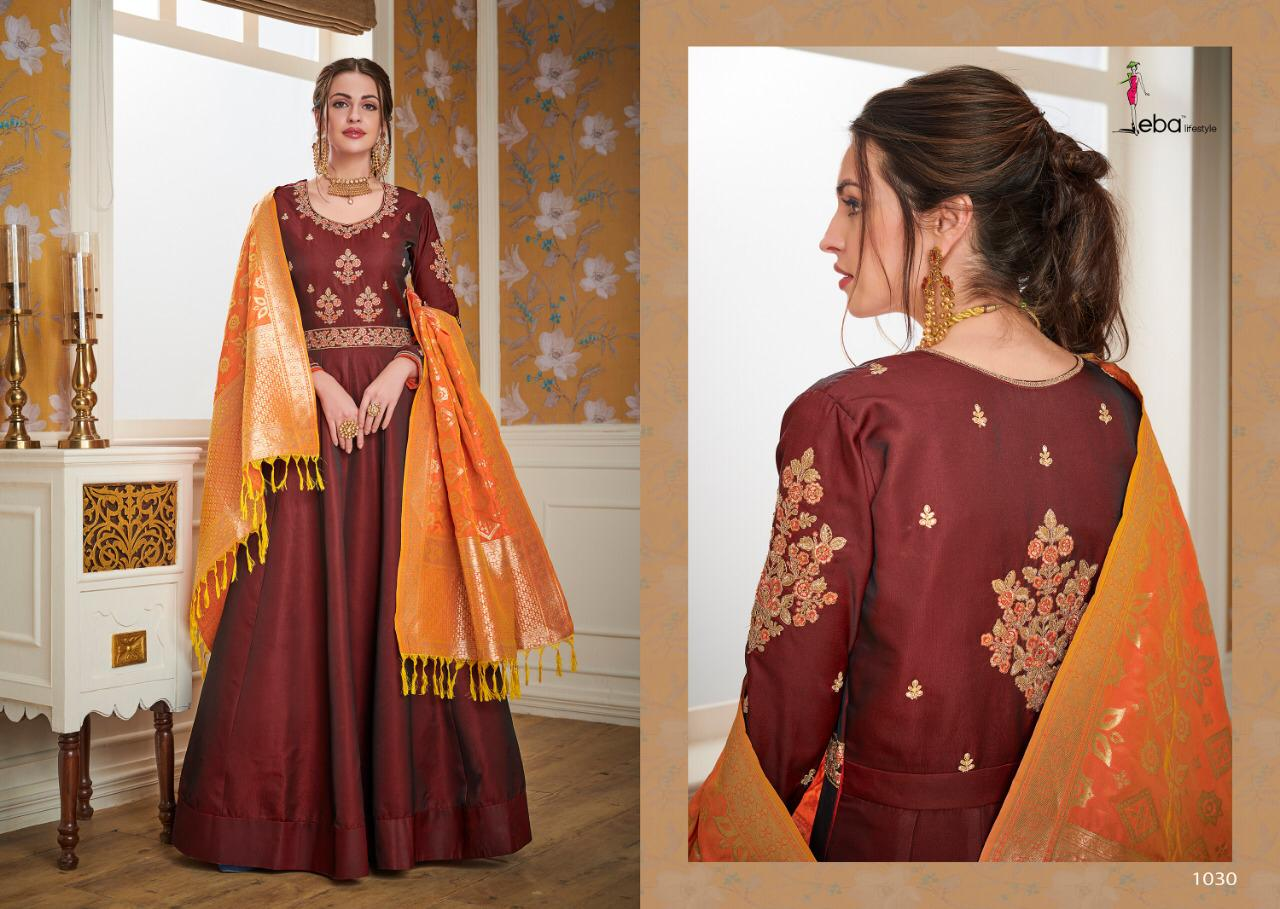Eba Lifestyle Banarasi Vol 2 Present Designer Suit Wholesale