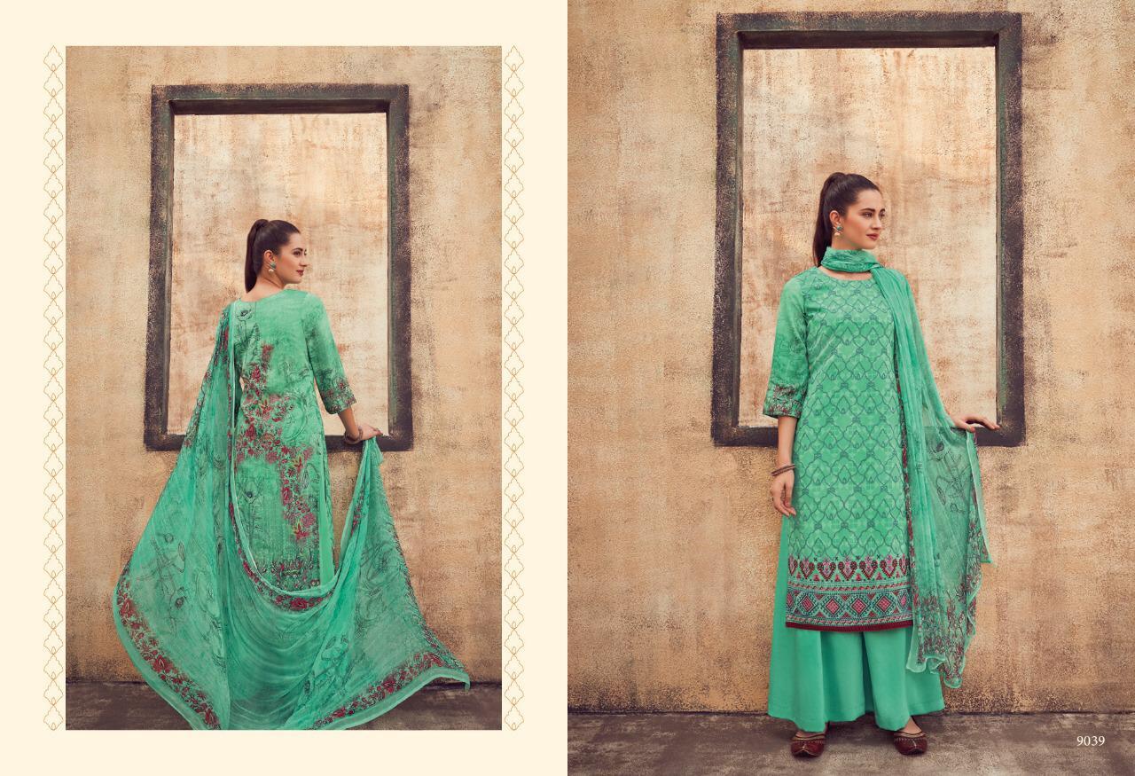 Kimora Heer Vol 43 Chiffon Digital Printed Suits Wholesale