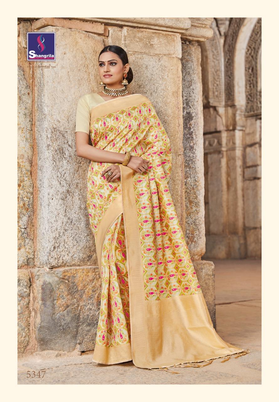 Shangrila Ekaanshi Silk Wedding Designer Sarees Wholesale