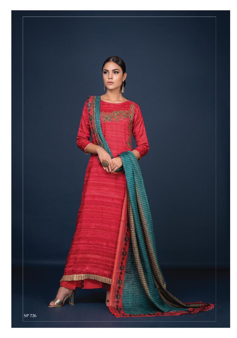 Sri Arjiyan Khatli Work Designer Suits Wholesale