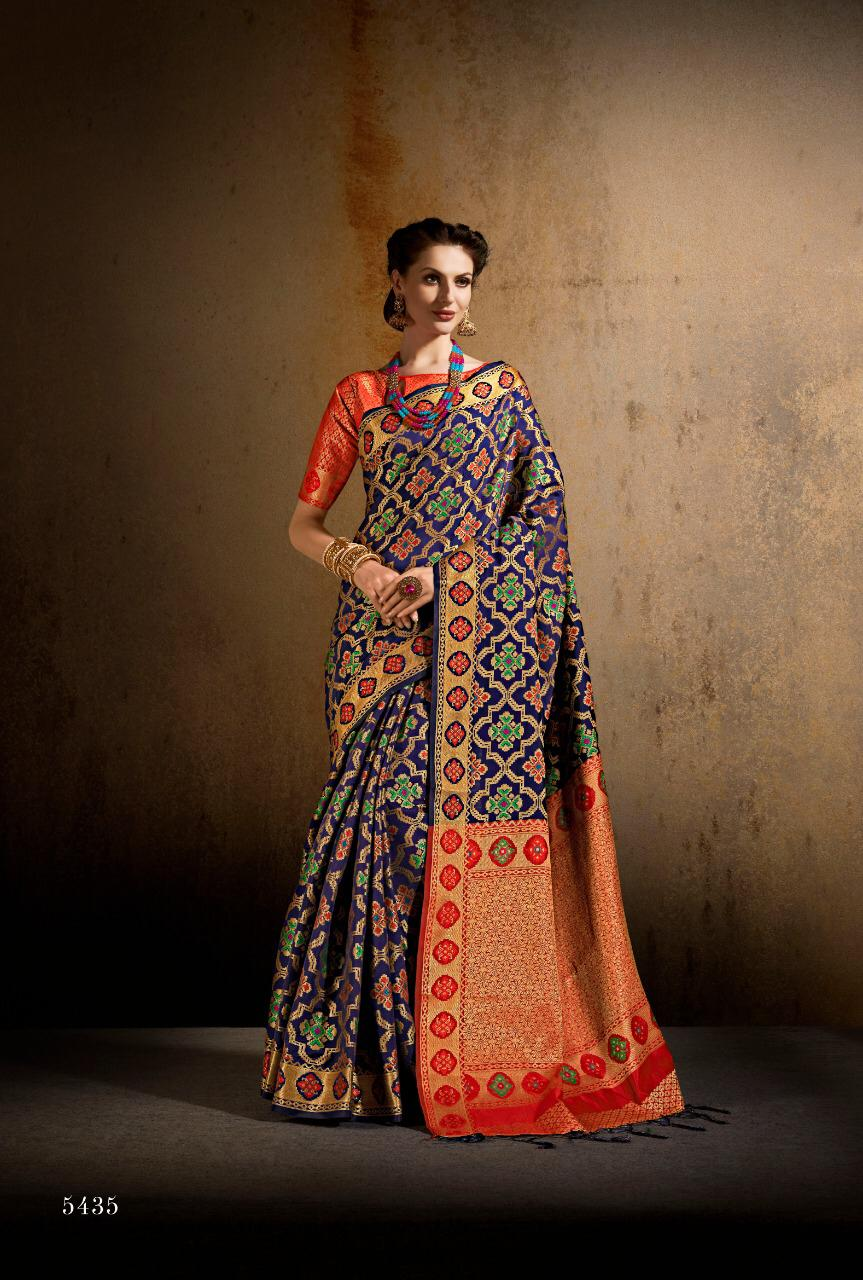 Shangrila Sanvi Silk Designer Partywear Sarees Wholesale Box