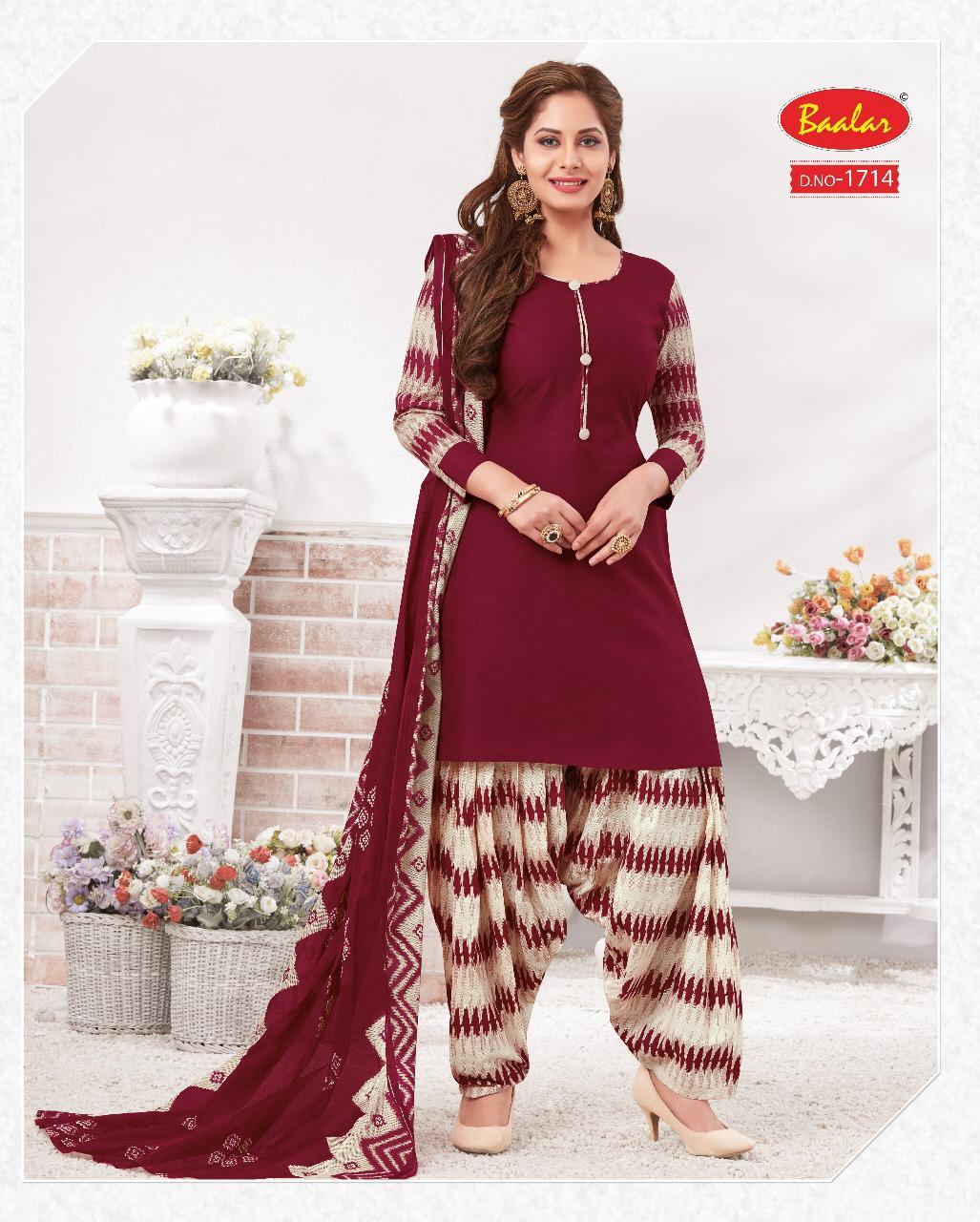 Baalar Nai Disha Vol 17 Designer Cotton Suits Wholesale Lot