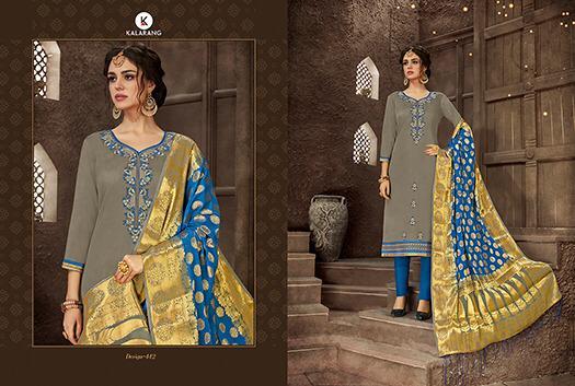 Kalarang Alankar Vol 5 Designer Suits Wholesale Lot
