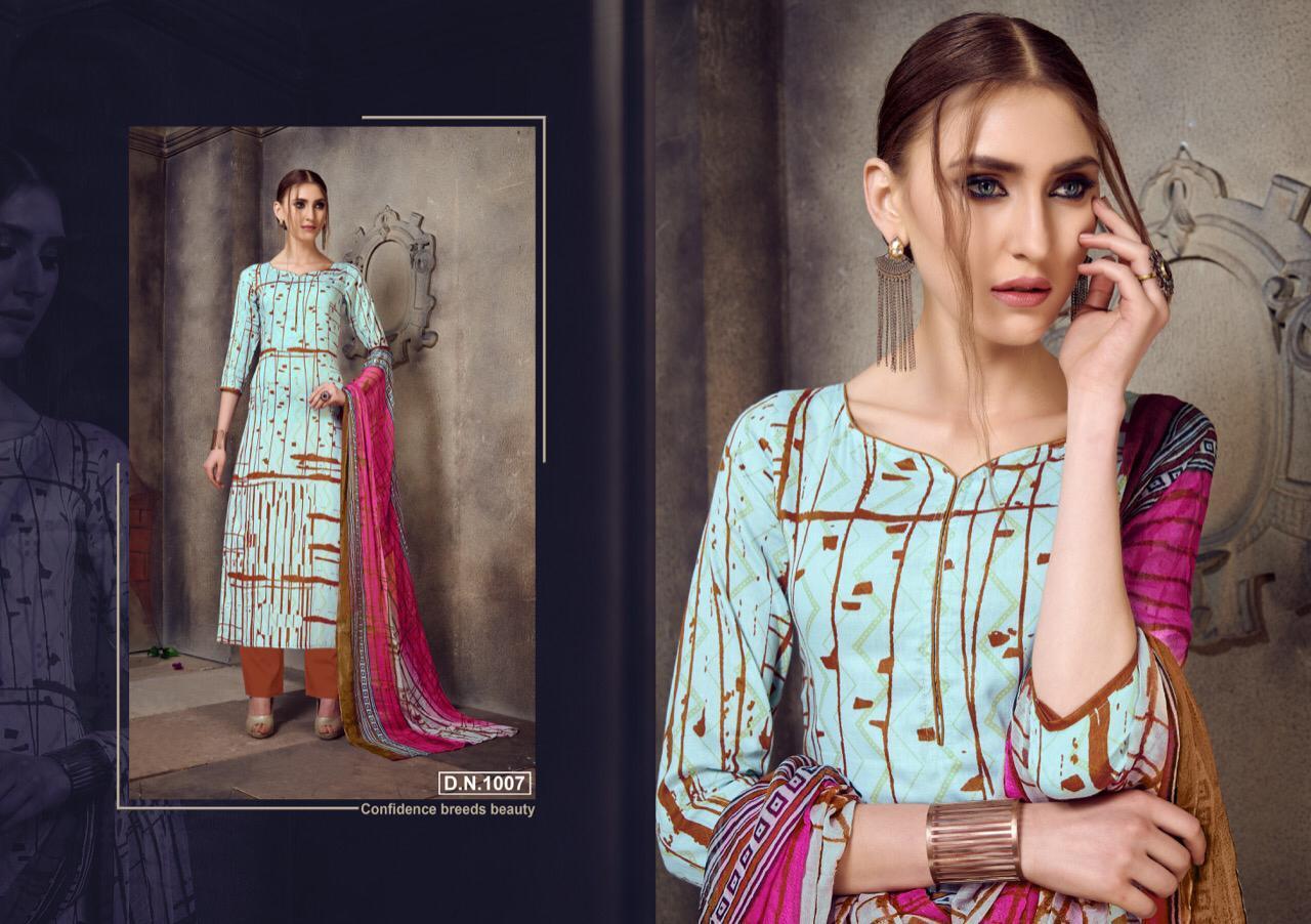 Sri Vijay Kesar Nazrana Designer Jam Cotton Suits Wholesale