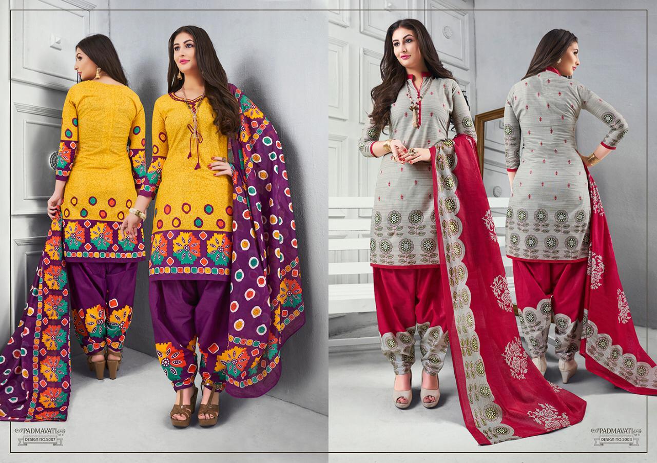 Akash Mayur Creation Padmavati Vol 5 Designe Suits Wholesale