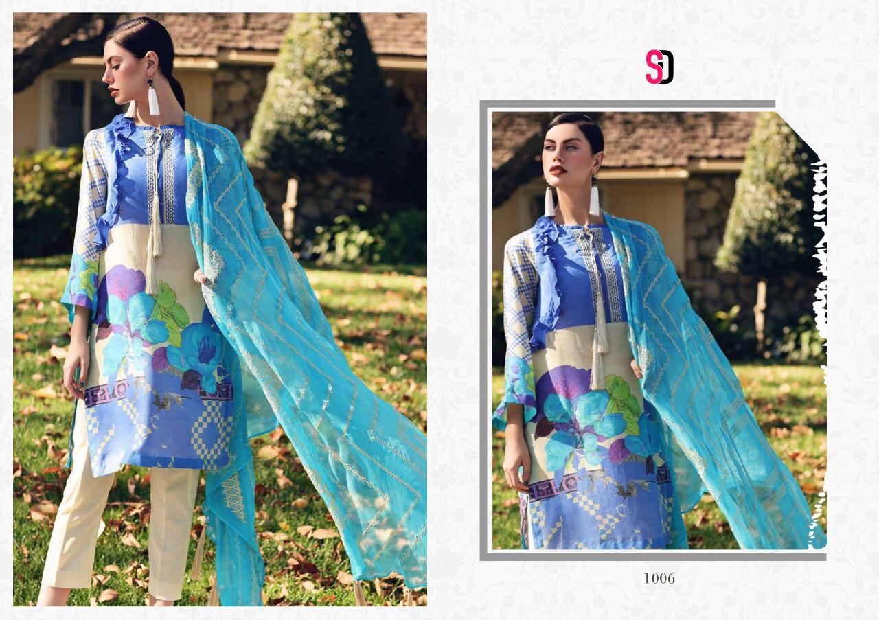 Shraddha Designer Zinnat Vol 1 Cotton Suits Wholesale