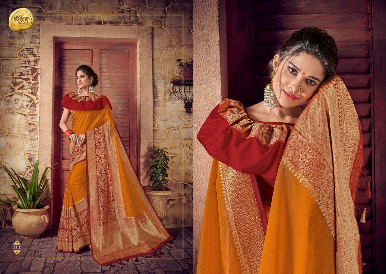 Raj Sanskar Rani Jodha Designer Sarees Wholesale