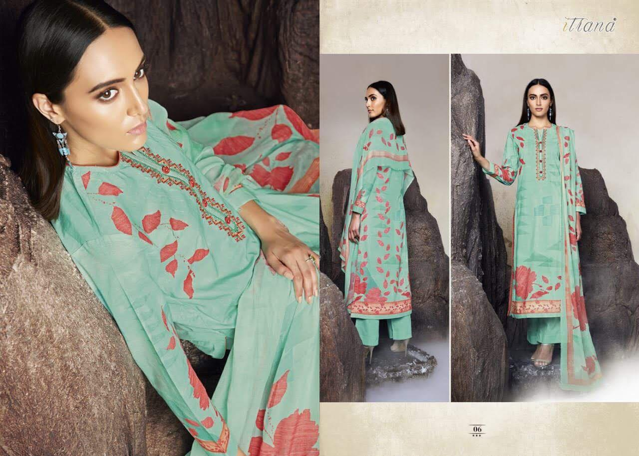 Sahiba Mehrab Digital Print With Embrodery Suits Wholesale