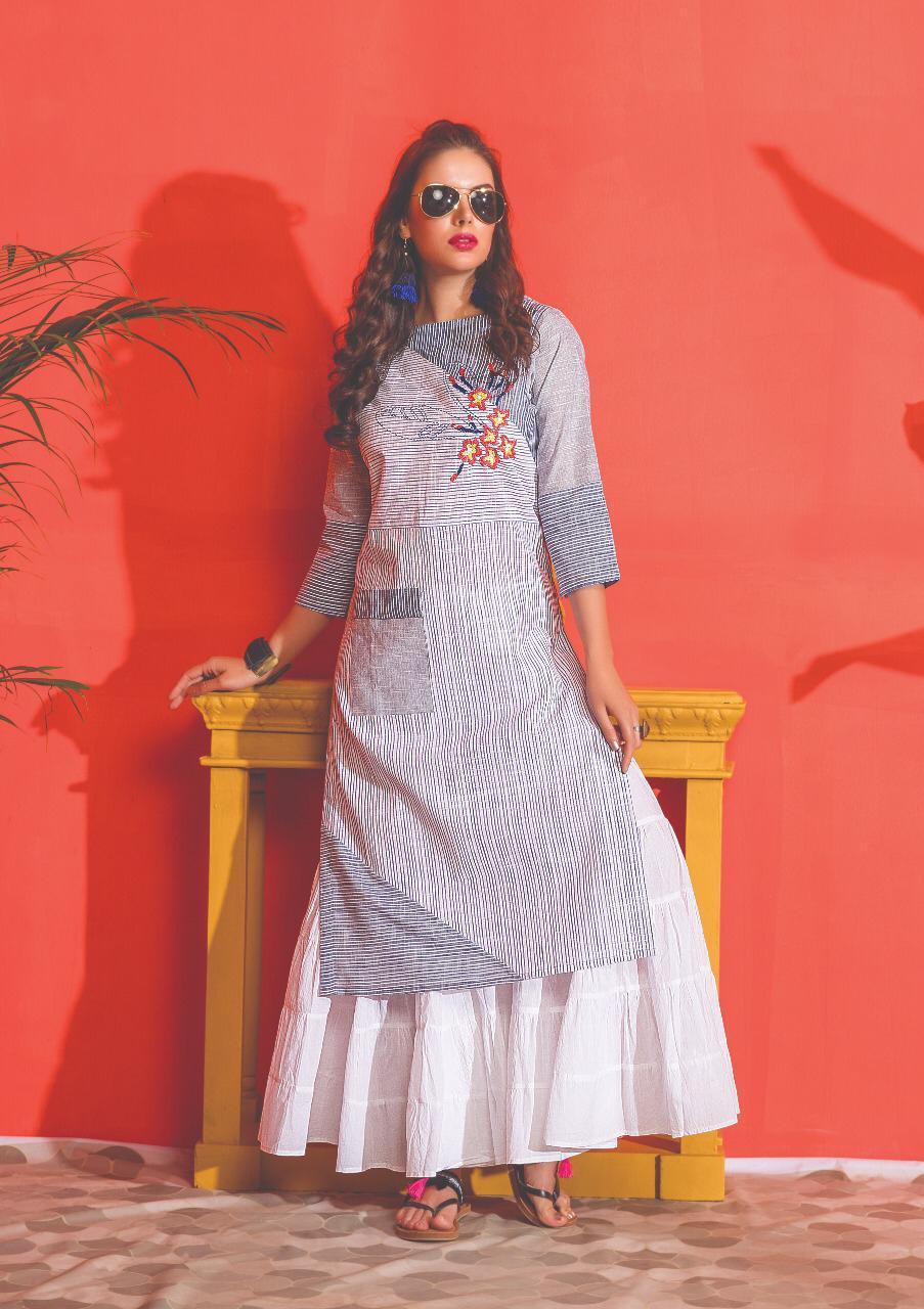 S4u Shivali Kantha Summer Kurtis Collection Wholesale
