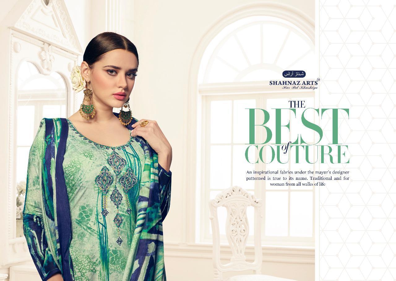 Shahnaz Arts Floration Vol 2 Designer Suits Wholesale