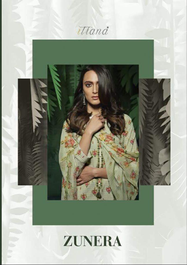 Sahiba Zunera Cotton Embrodery Suits Wholesale