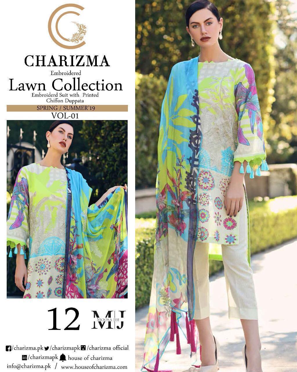 Original Pakistani Replica Premium Lawm Embrodery Wholesale