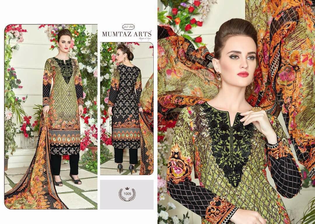 Mumtaz Arts Jam Satin Designer Suit In Single