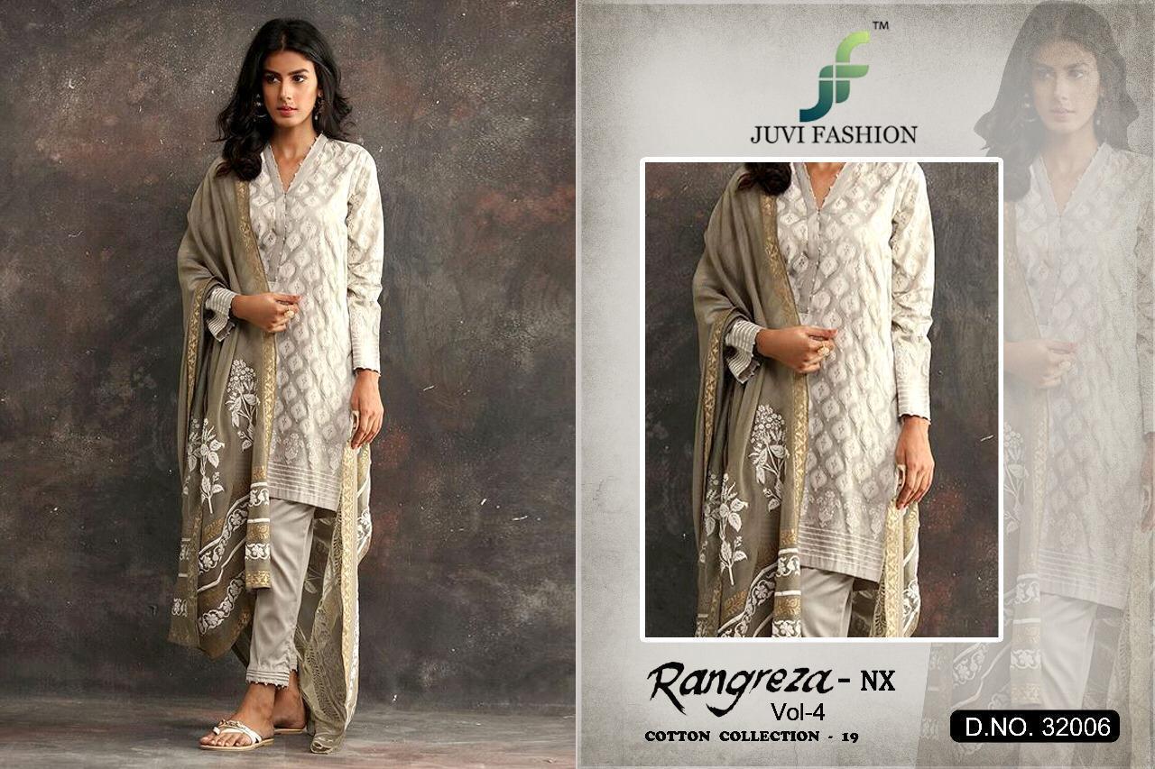 Juvi Fashion Rangreza Vol 4 Designer Suiits Wholesale