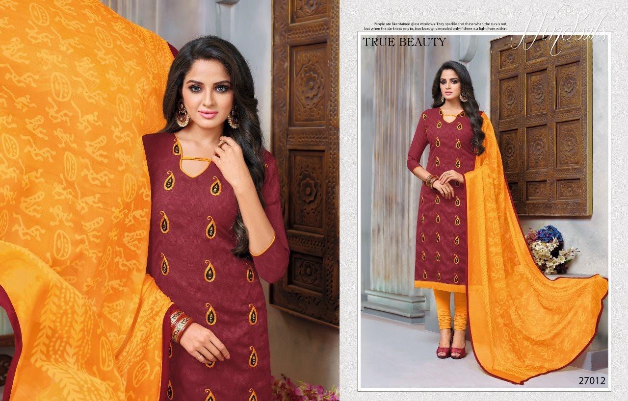 Kapil Trendz Dairy Don Vol 17 Designer Cotton Suits Single