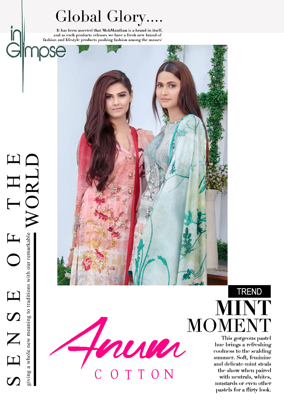 Anum Designer Karachi Cotton Printed Suit Wholesale Lot