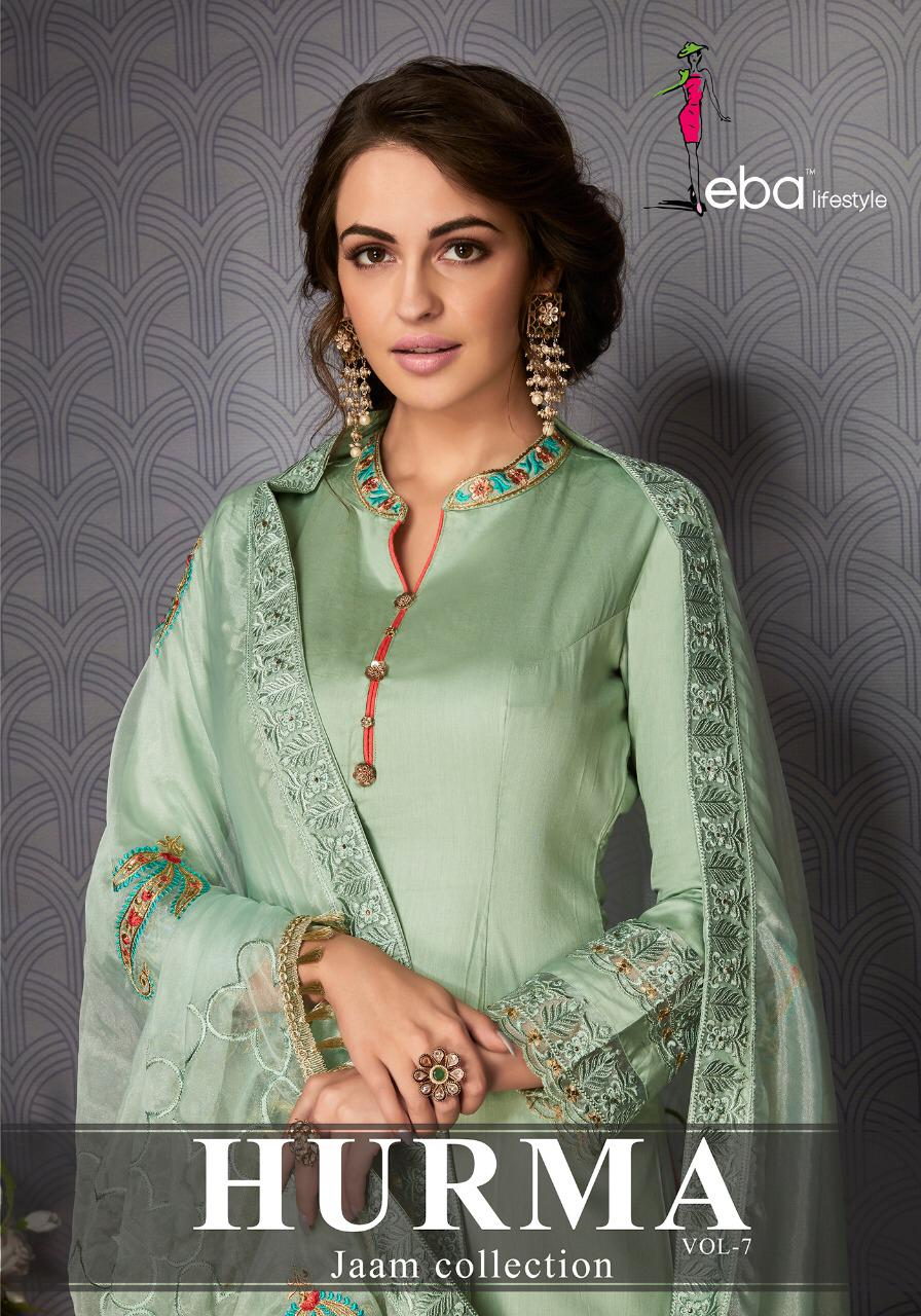 Eba Lifestyle Hurma Vol 7 Suit In Cheapest Wholesale Rate