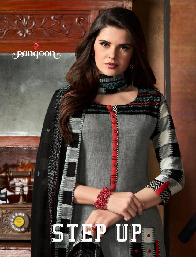 Rangoon Step Up Designer Top With Plazzo In Wholesale Rate