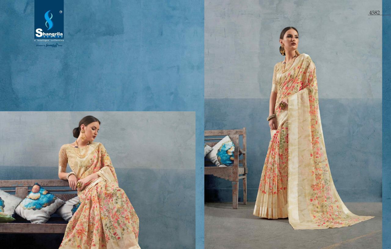 Shangrila Kanchana Cotton Vol 13 Designer Saree Wholesale