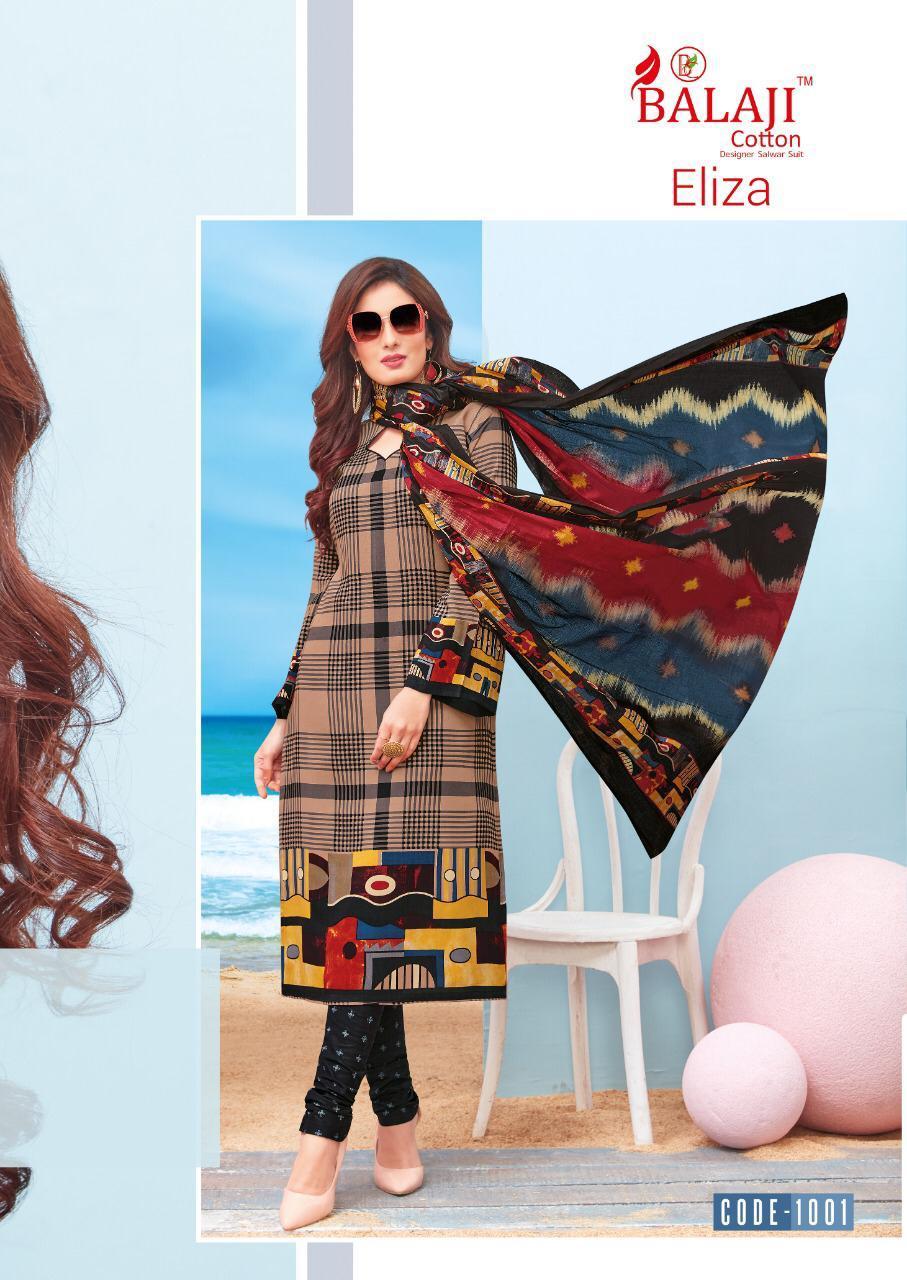 Balaji Cotton Eliza Designer Dogital Printed Suits Wholesale