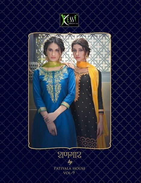 Kessi Fabrics Shangar By Patiyala Vol 9 Suits Wholesale