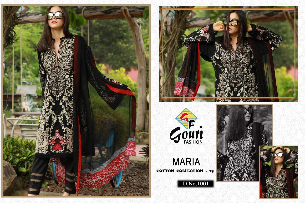 Gouri Fashion Maria Designer Heavy Suits Wjolesale Lot