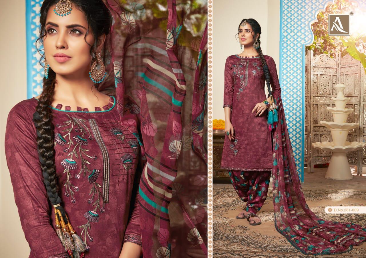Alok Suit Heer Designer Partywear Suits Wholesale Box