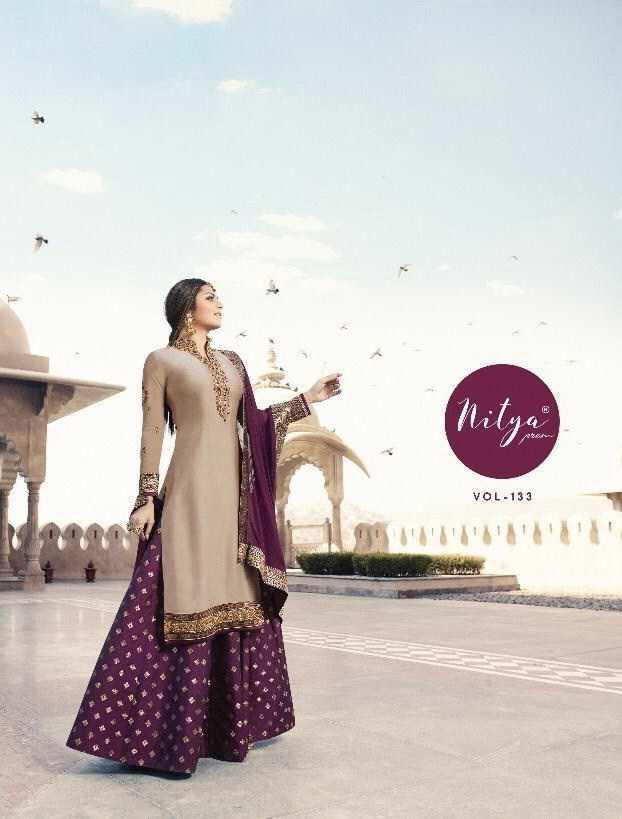 Lt Nitya 133 Designer Heavy Wedding Suits Retail Wholesale