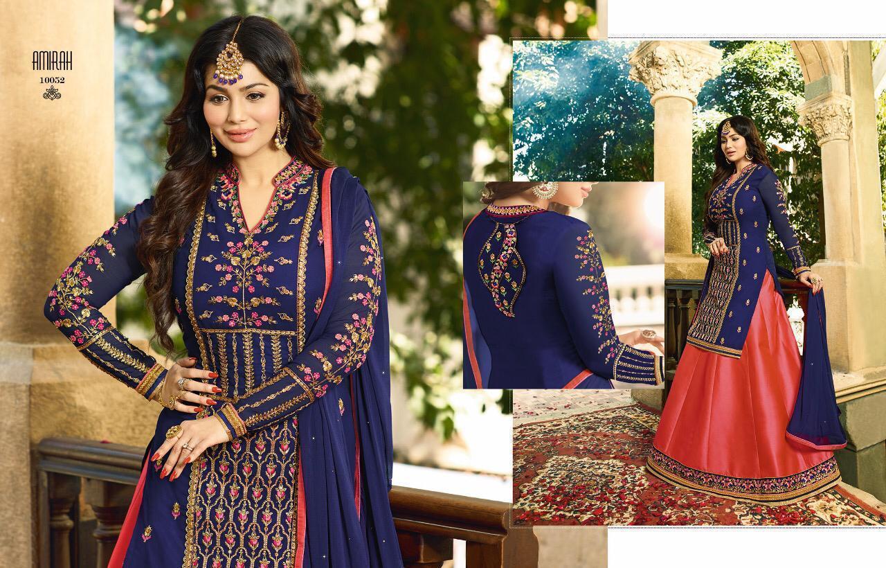 Amirah Vol 13 Heavy Embroidary Designer Suit Wholesale Lot