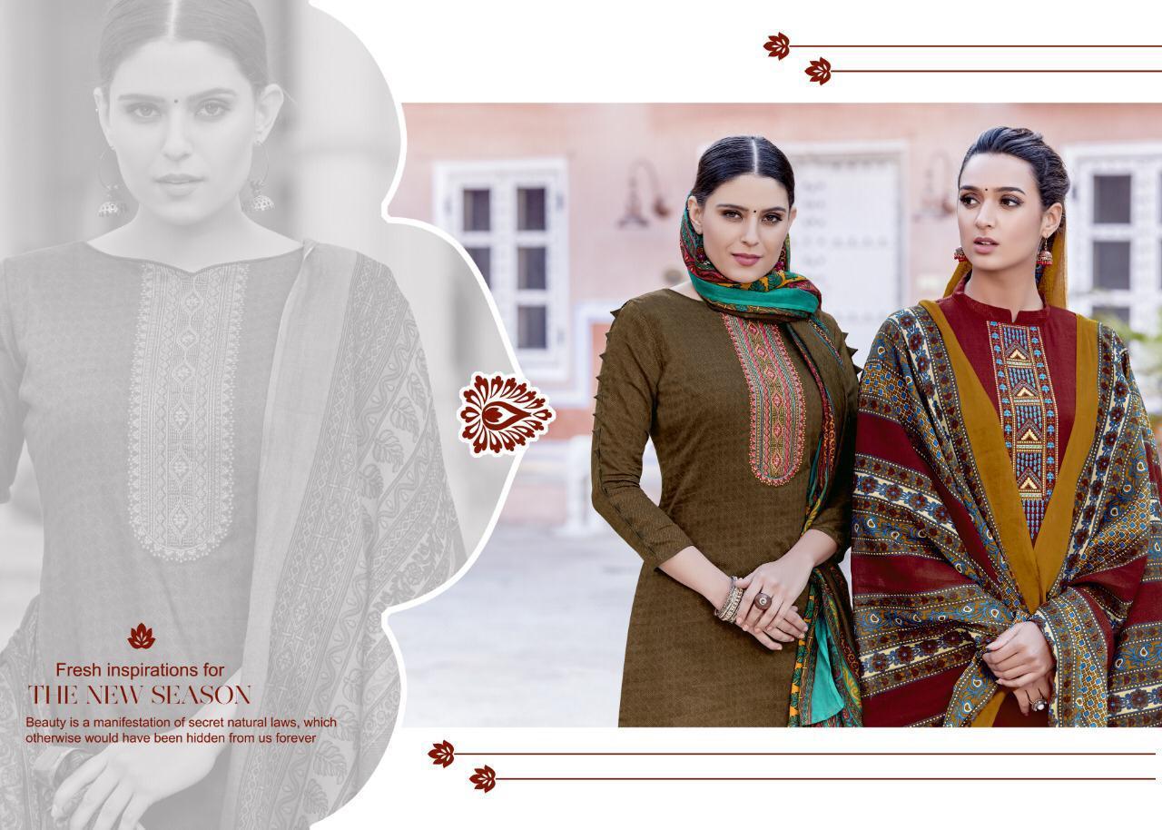 Tanishk Mahiyaa Designer Kashmiri Embroidary Suits Wholesale