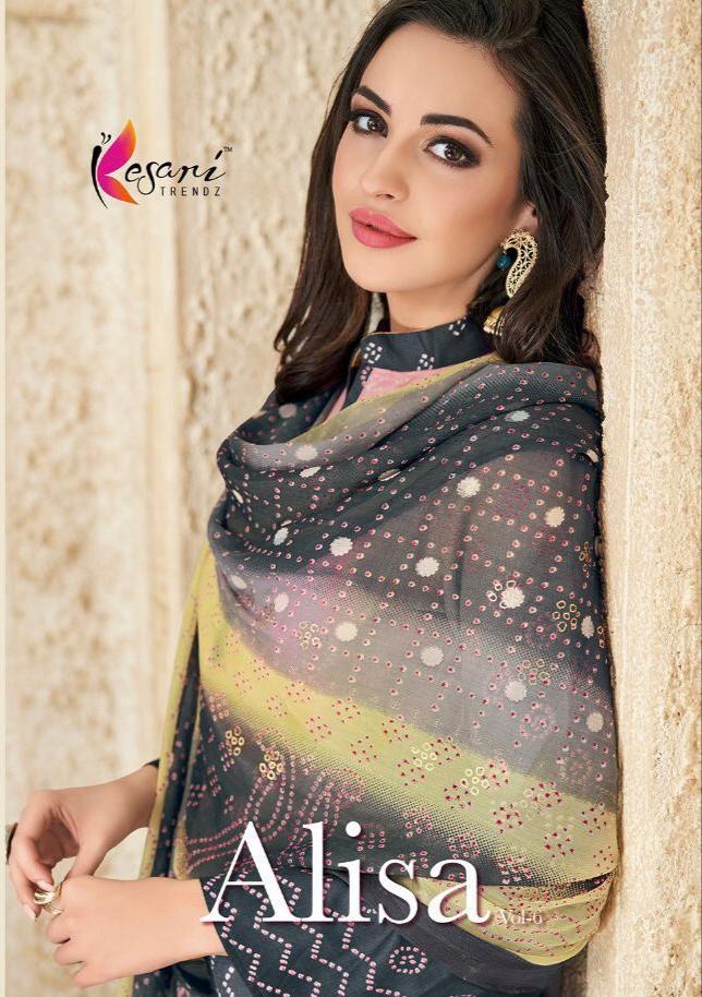 Kesari Trendz Alisa Vol 6 Designer Partywear Suits Wholesale