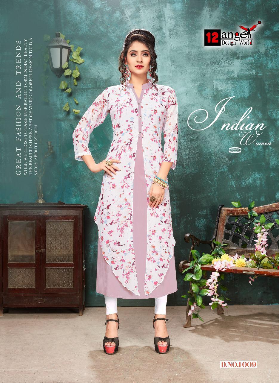 12 Angel Inspire Vol 2 Designer Gown Pettern Kurti Wholesale