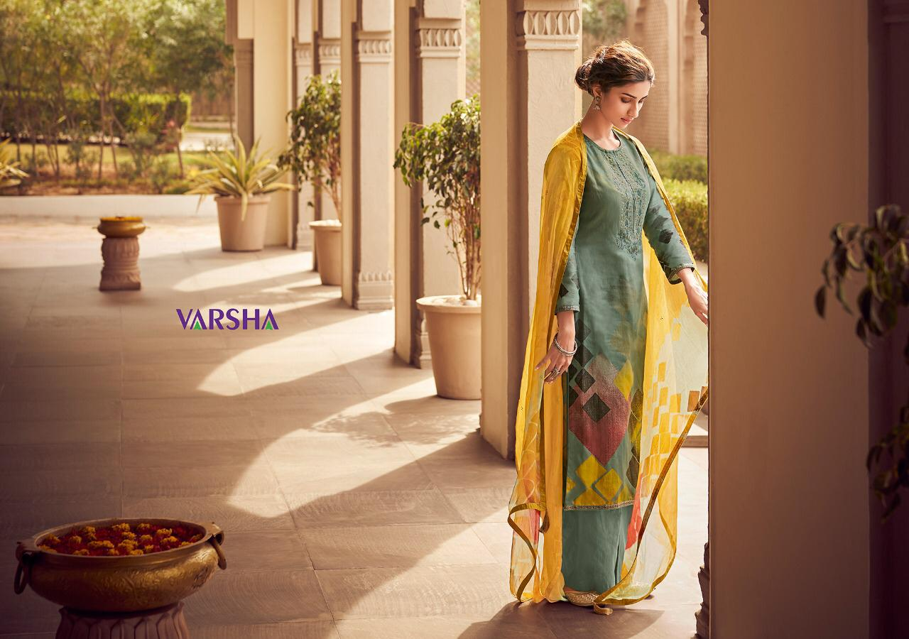 Varshaa Fashion Nikhar Designer Lawn Suits In Wholesale Rate