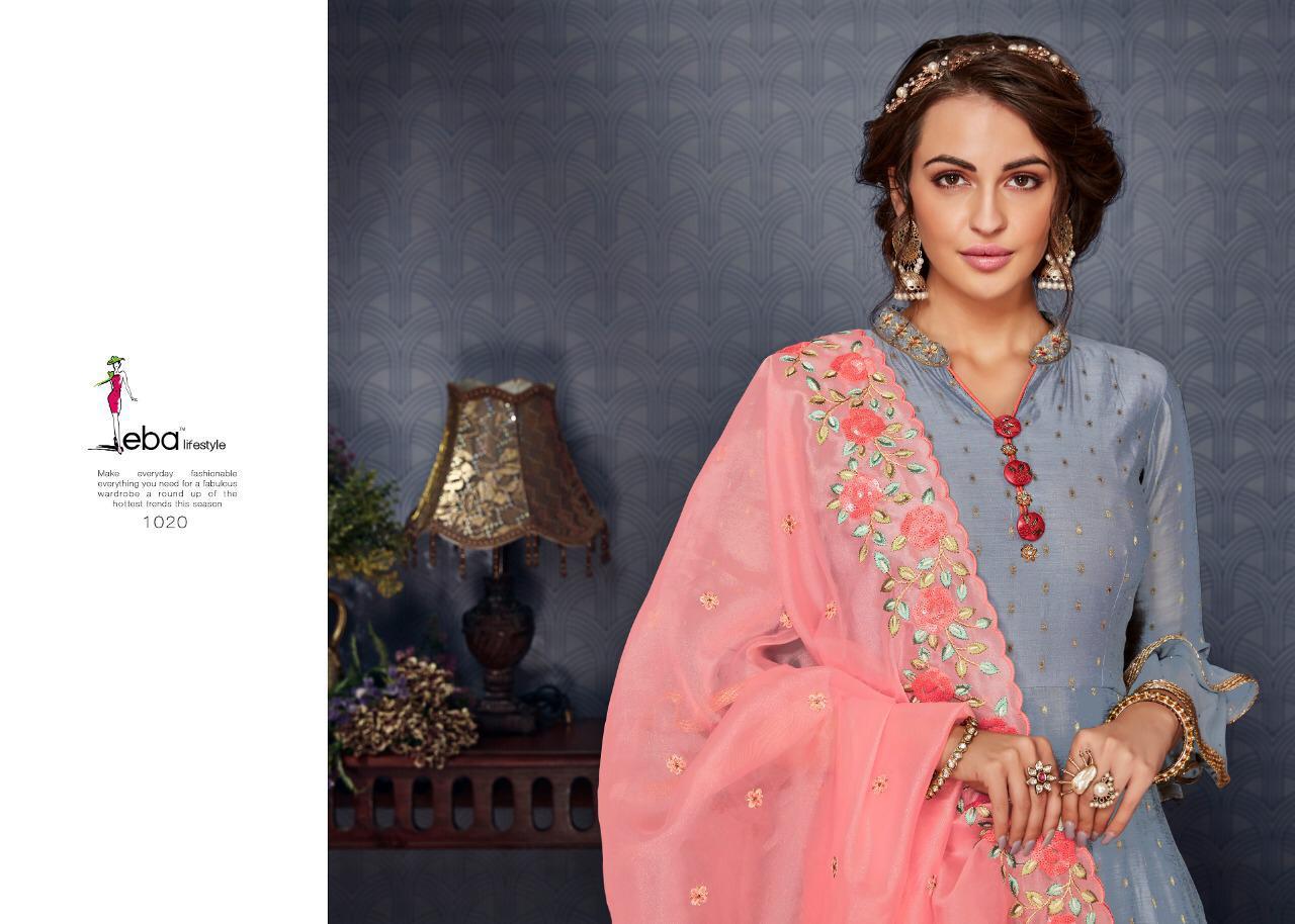 Eba Lifestyle Nirja Vol 3 Designer Gowns In Wholesale Box