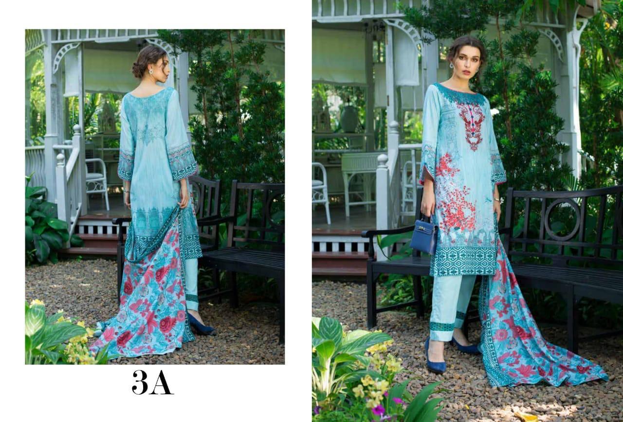 Monsoon Lawn Vol2 Deaigner Original Pakistani Suit Wholesale