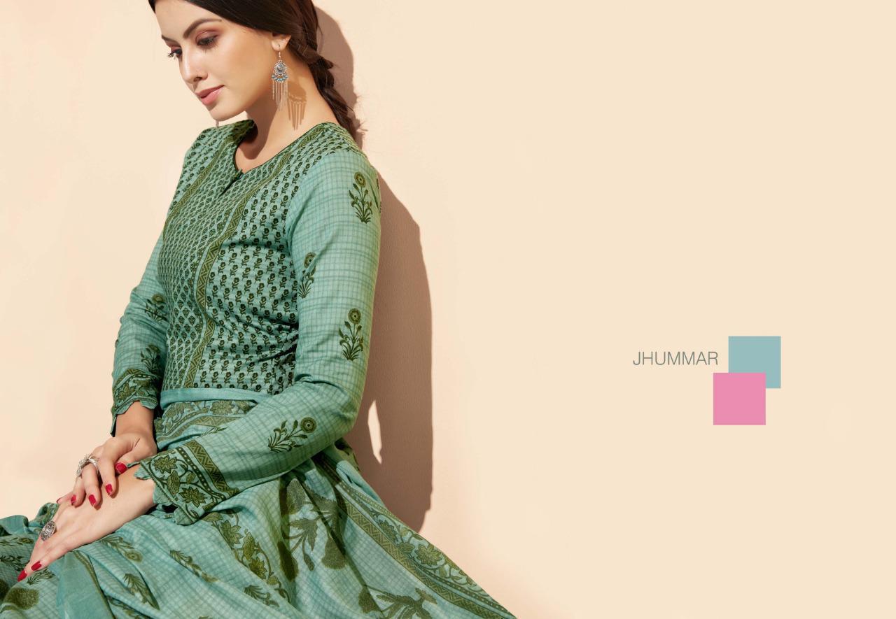Sargam Prints Jhummar Designer Cotton Printed Suitswholesale