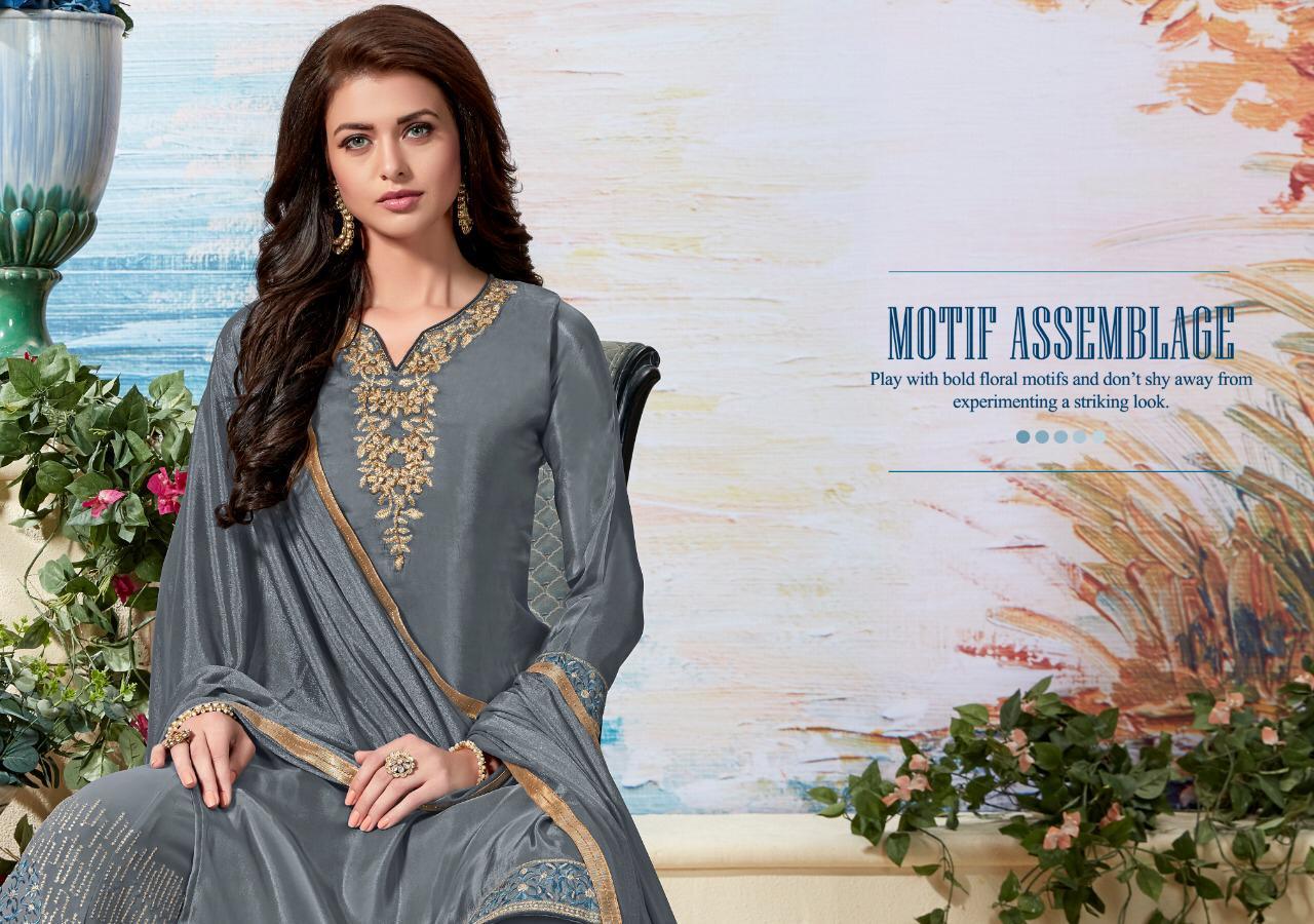 Sanskruti Silk Mahima Designer Sharara Suits Wholesale