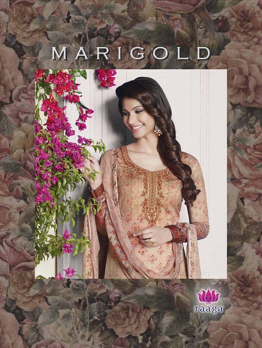 Swagat Merigold Designer Digital Printed Suits Wholesale