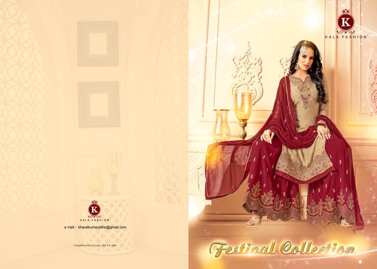 Kala Fashion Festival Collection Designer Suit Wholesale Box