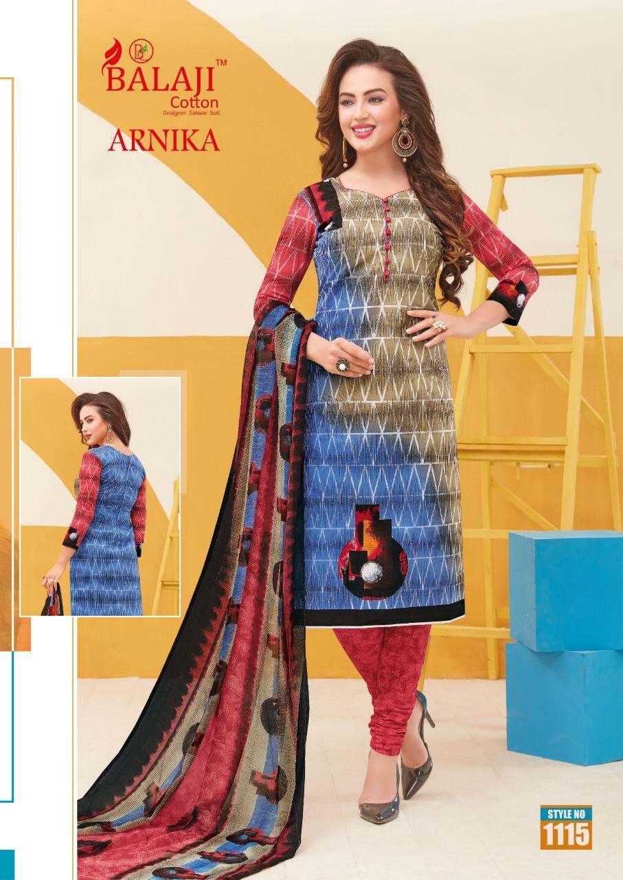 Balaji Cotton Arnika Vol 8 Designer Cotton Suit Wholesale