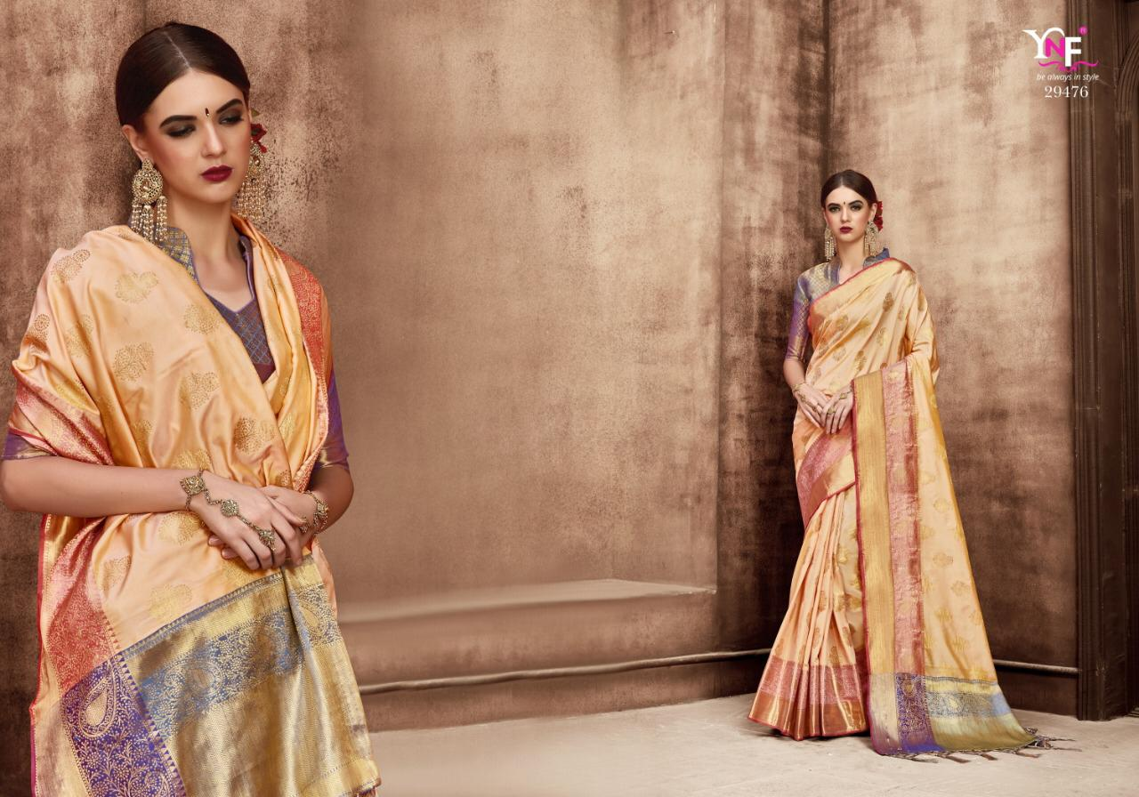 Ynf Barati Silk Designer Partywear Sarees Wholesale